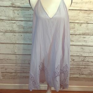NWOT Free people lilac dress size L.